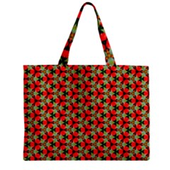 Lovely Trendy Pattern Background Pattern Zipper Tiny Tote Bags