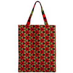 Lovely Trendy Pattern Background Pattern Zipper Classic Tote Bags