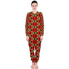 Lovely Trendy Pattern Background Pattern OnePiece Jumpsuit (Ladies)