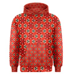 Lovely Orange Trendy Pattern  Men s Pullover Hoodies