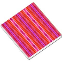 Orange tribal aztec pattern Small Memo Pads