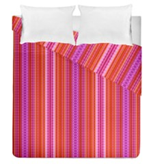 Orange Tribal Aztec Pattern Duvet Cover (full/queen Size)