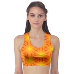 Cute Pretty Elegant Pattern Sports Bra