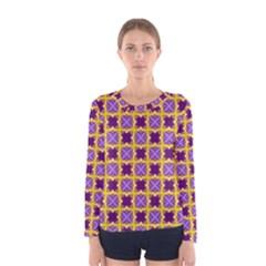 Cute Pretty Elegant Pattern Women s Long Sleeve T-shirts