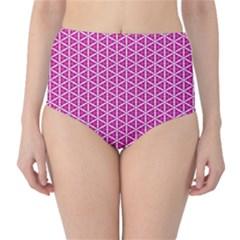 Cute Pretty Elegant Pattern High-Waist Bikini Bottoms