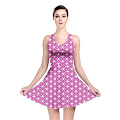 Cute Pretty Elegant Pattern Reversible Skater Dresses
