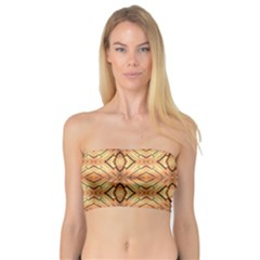 Faux Animal Print Pattern Women s Bandeau Tops