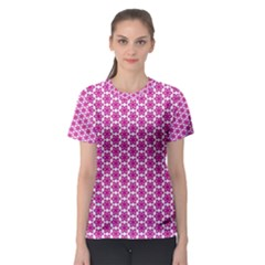Cute Pretty Elegant Pattern Women s Sport Mesh Tees