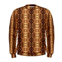 Faux Animal Print Pattern Men s Sweatshirts