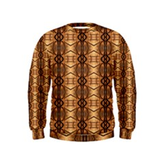 Faux Animal Print Pattern Boys  Sweatshirts