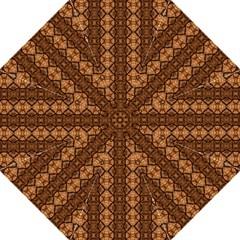 Faux Animal Print Pattern Hook Handle Umbrellas (Medium)