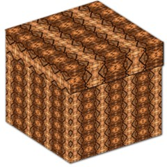 Faux Animal Print Pattern Storage Stool 12