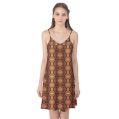 Faux Animal Print Pattern Camis Nightgown
