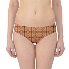 Faux Animal Print Pattern Hipster Bikini Bottoms