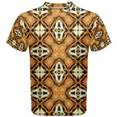 Faux Animal Print Pattern Men s Cotton Tees