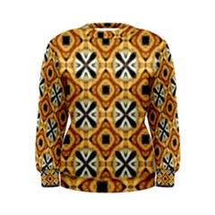 Faux Animal Print Pattern Women s Sweatshirts