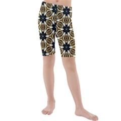 Faux Animal Print Pattern Kid s swimwear
