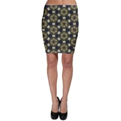 Faux Animal Print Pattern Bodycon Skirts