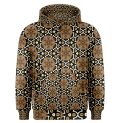 Faux Animal Print Pattern Men s Zipper Hoodies