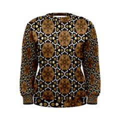 Faux Animal Print Pattern Women s Sweatshirts