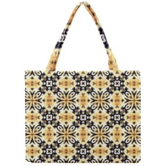 Faux Animal Print Pattern Tiny Tote Bags