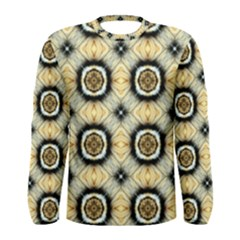 Faux Animal Print Pattern Men s Long Sleeve T-shirts