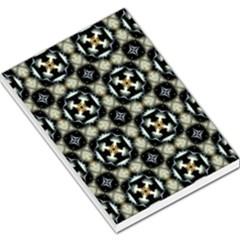 Faux Animal Print Pattern Large Memo Pads