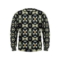 Faux Animal Print Pattern Boys  Sweatshirts