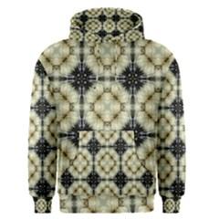 Faux Animal Print Pattern Men s Pullover Hoodies