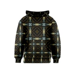 Faux Animal Print Pattern Kid s Pullover Hoodies