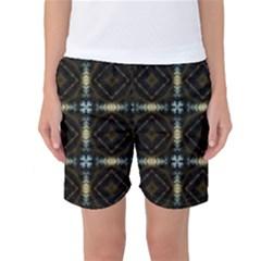 Faux Animal Print Pattern Women s Basketball Shorts
