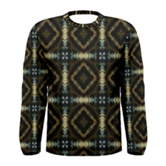 Faux Animal Print Pattern Men s Long Sleeve T-shirts
