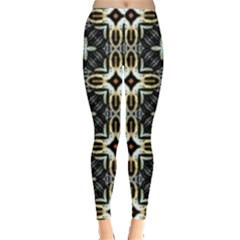 Faux Animal Print Pattern Women s Leggings