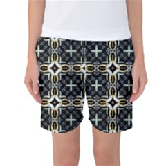 Faux Animal Print Pattern Women s Basketball Shorts