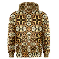 Faux Animal Print Pattern Men s Pullover Hoodies