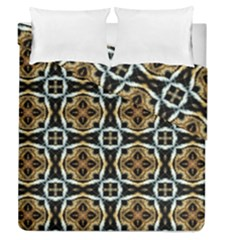 Faux Animal Print Pattern Duvet Cover (full/queen Size)