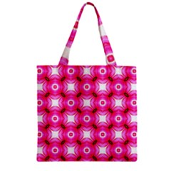 Cute Pretty Elegant Pattern Zipper Grocery Tote Bags