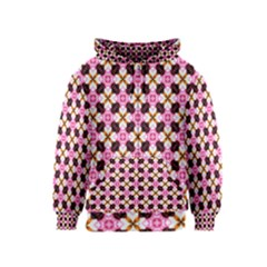 Cute Pretty Elegant Pattern Kids Zipper Hoodies