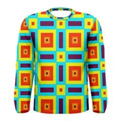 Cute Pretty Elegant Pattern Men s Long Sleeve T Shirts