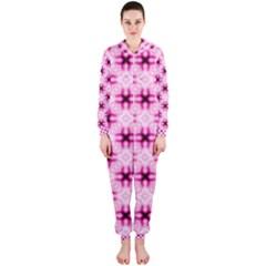 Cute Pretty Elegant Pattern Hooded Jumpsuit (Ladies)