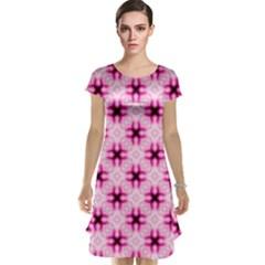 Cute Pretty Elegant Pattern Cap Sleeve Nightdresses