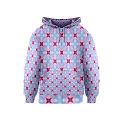 Cute Pretty Elegant Pattern Kids Zipper Hoodies