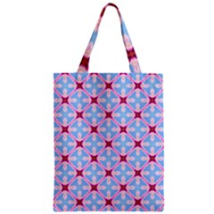 Cute Pretty Elegant Pattern Zipper Classic Tote Bags