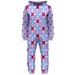 Cute Pretty Elegant Pattern Hooded Jumpsuit (Ladies)