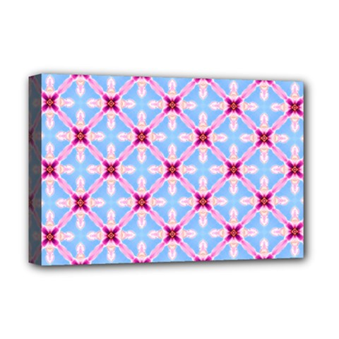 Cute Pretty Elegant Pattern Deluxe Canvas 18  X 12