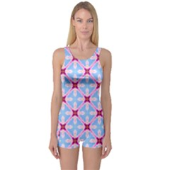 Cute Pretty Elegant Pattern Women s Boyleg One Piece Swimsuits