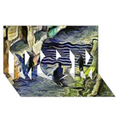 Banks Of The Seine Kpa Mom 3d Greeting Card (8x4)