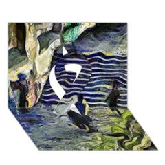 Banks Of The Seine KPA Ribbon 3D Greeting Card (7x5)