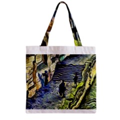 Banks Of The Seine KPA Grocery Tote Bags