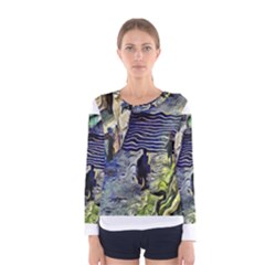 Banks Of The Seine KPA Women s Long Sleeve T-shirts